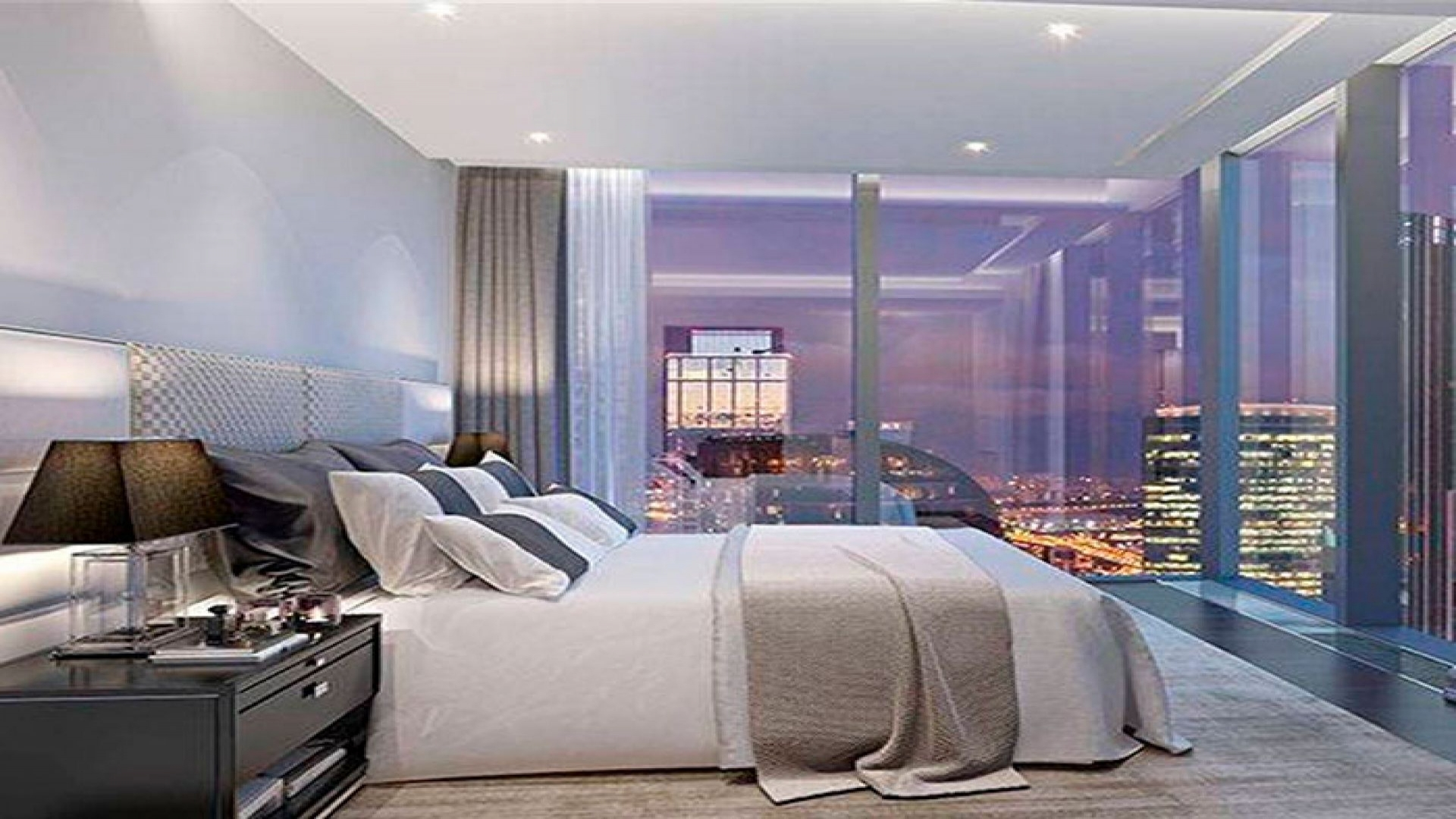 Пример модельных апартаментов в Neva Towers